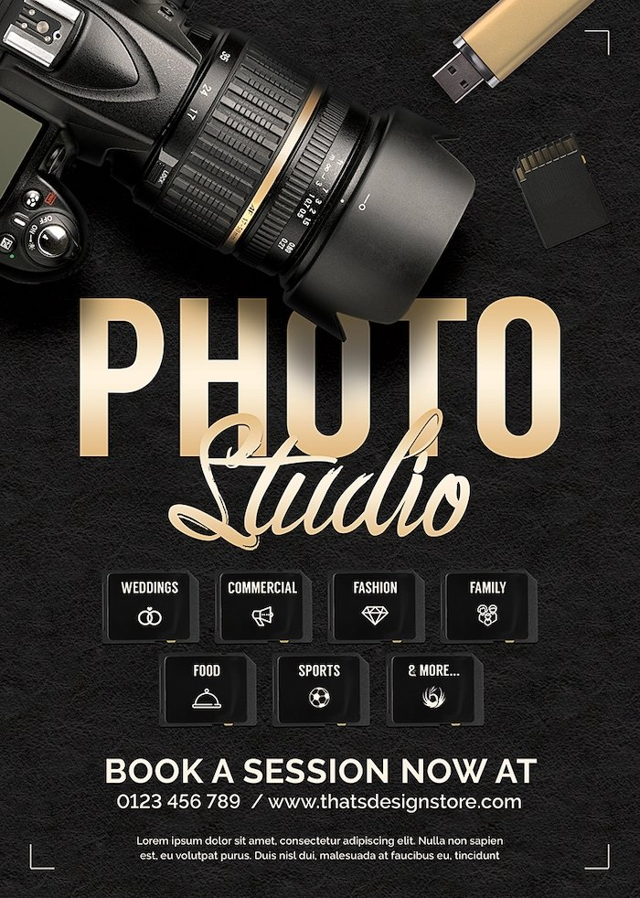 Special Photographer Flyers Bundle