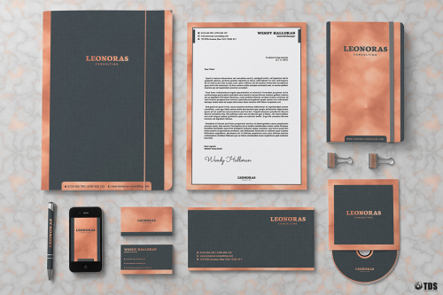 Rose Gold Corporate Identity