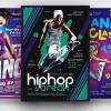 Dance Classes Flyer Bundle