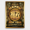 New Year Flyer Template PSD V2