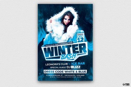Winter Bash Flyer Template V3