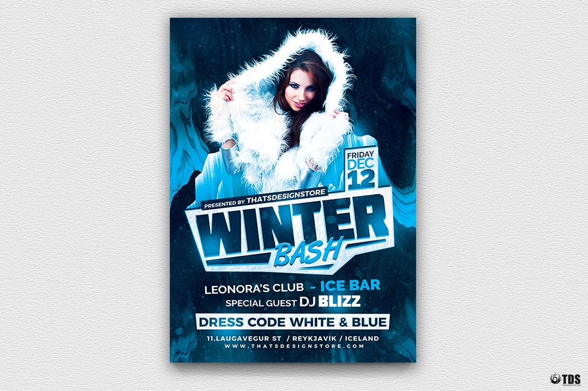 Winter Bash Flyer Template V3
