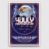 July 4th party flyers posters / Independence Day Flyer Template V2