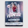 Winter Solstice Flyer Template V2 PSD download