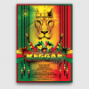 Reggae Tribute Flyer Template, Rasta PSD download