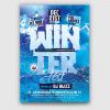 Winter Festival Flyer Template Psd Download V2