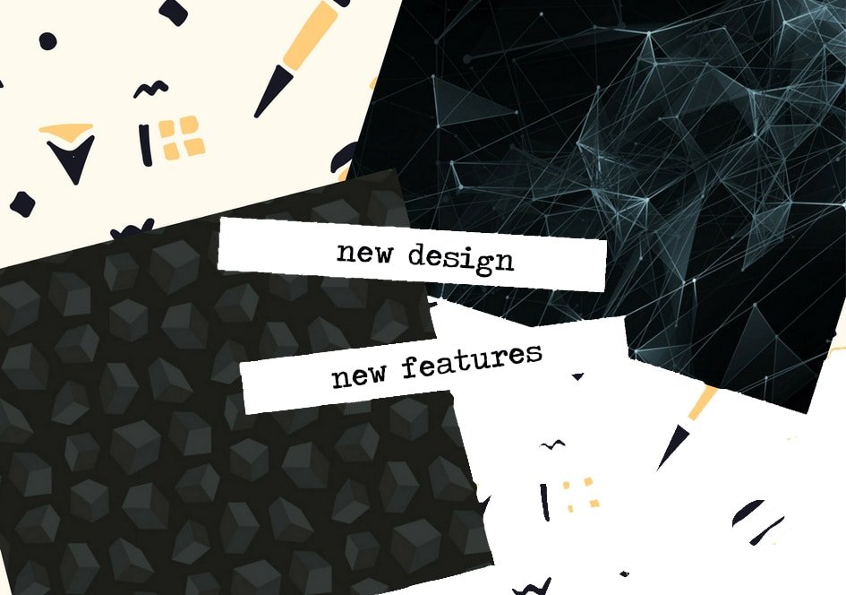 New features, New design