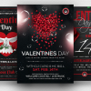 Valentines Day Flyer sd templates to download Bundle V2