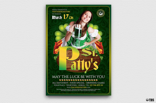 Saint Patrick's Day PSD Flyer Template V3