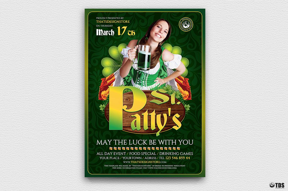 Saint Patrick's Day PSD Flyer Template V3