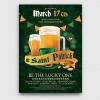Saint Patrick's Day PSD Flyer Template V5