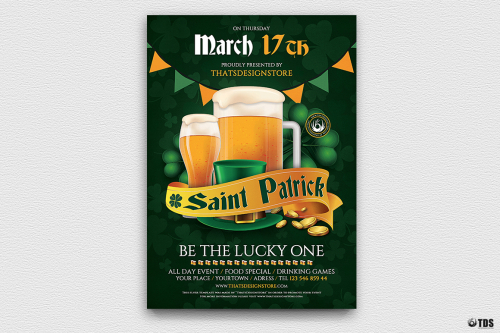 Saint Patrick's Day PSD Flyer Template V5