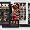 Jazz Festival Flyer Bundle V3