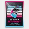 Street Dancing Flyer Template PSD design download