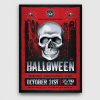 Halloween Flyer Template Psd design to customize with photoshop V23