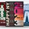 Winter Events Flyer Bundle V3