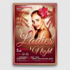Sensual Ladies Night Flyer Template psd download