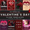 10 Valentines Day Flyer Templates Psd Bundle V1