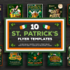 St Patricks day flyer templates, Saint patrick's psd design