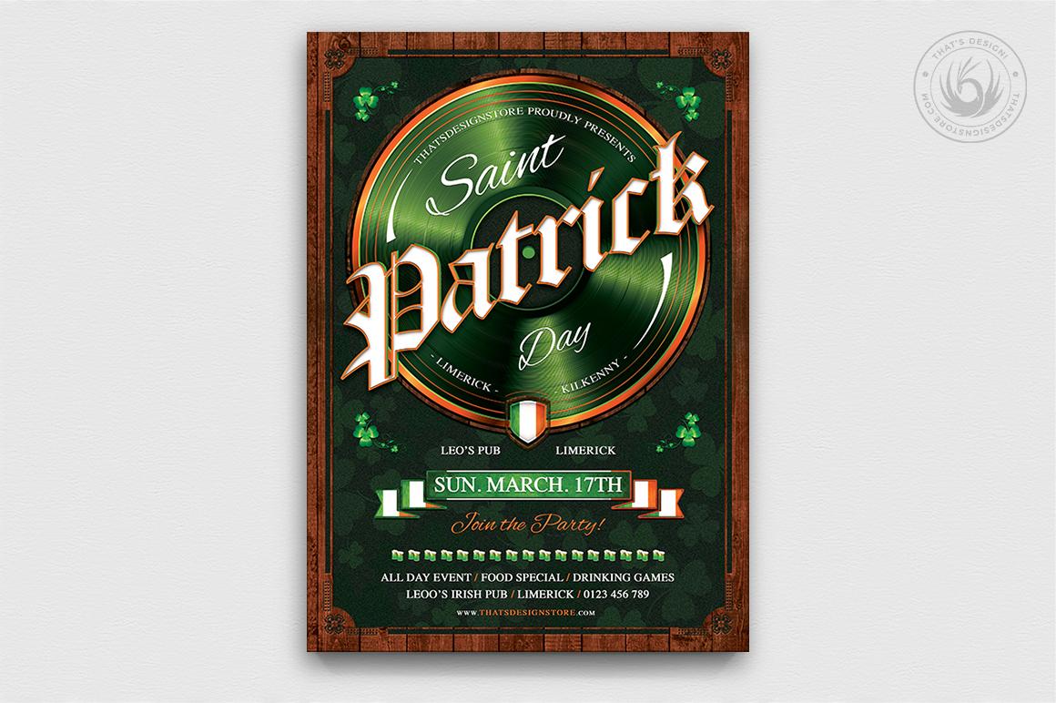 Saint Patrick's Day PSD Flyer Template V9