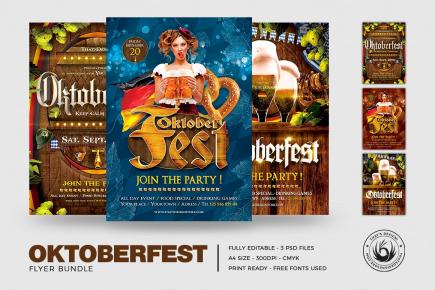 Oktoberfest Flyer Templates V2
