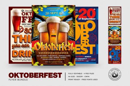 Oktoberfest Flyer Templates V.3