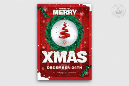 Christmas Eve Flyer Template V11