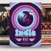 Indie Rock Flyer Bundle