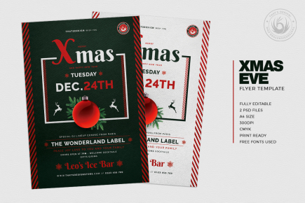 Christmas Eve Flyer Template V12