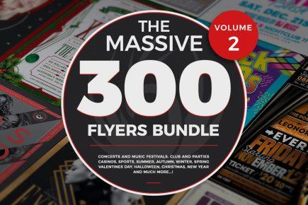 The Massive 300 Flyers Bundle Vol.2