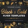 Black and Gold Flyers Bundle V2