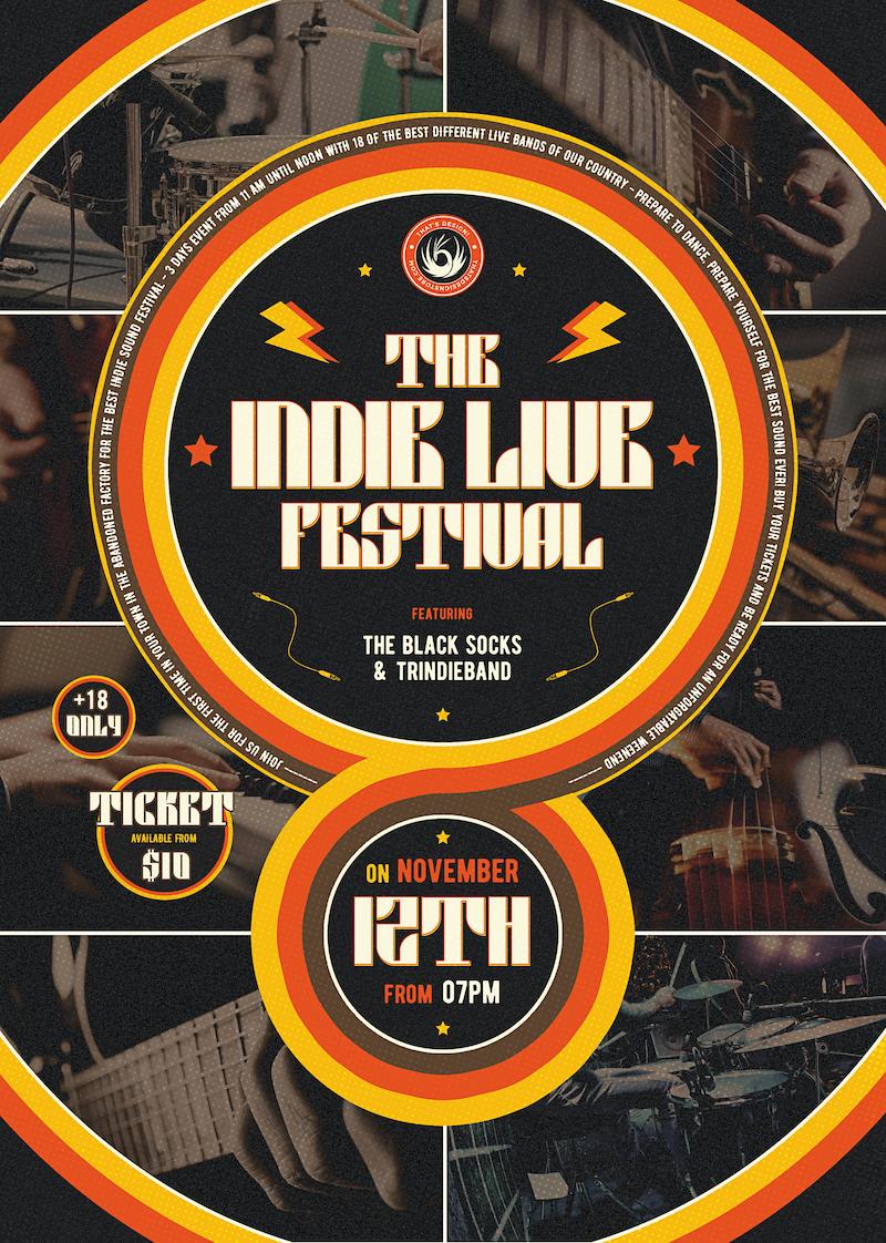 Indie Fest Flyer Template V6