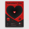 Valentine's Day Flyer Template PSD V23