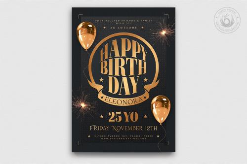 Birthday Party Flyer Template V2