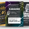 Karaoke Flyer Bundle V3