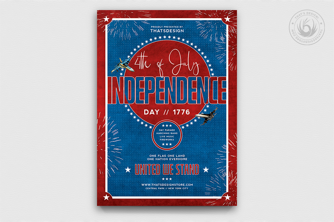 Independence Day Flyer Template V5