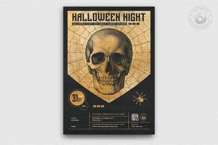 Halloween Flyer Template V26