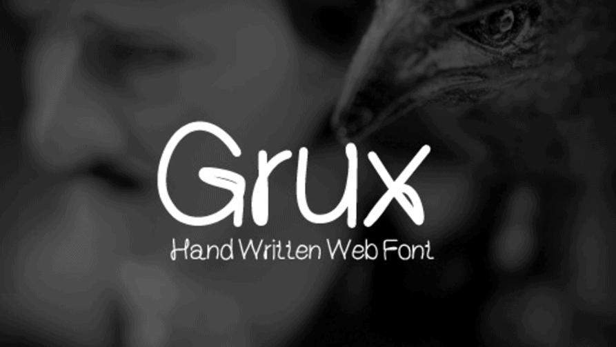 Free font Grux Download