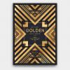 Minimal Black & Gold Flyer Template V22