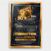 Hip Hop Connection Flyer Template PSD Download